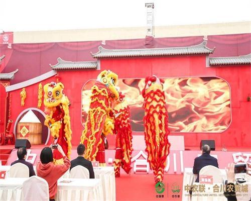 中农联·合川农贸城一期开业盛典