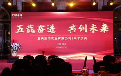 淼洁实业公司5周年庆典