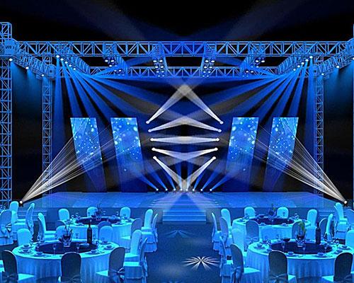 重庆灯光舞台搭建