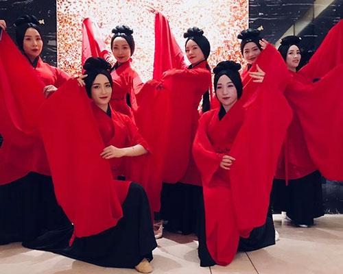 秦国舞蹈表演
